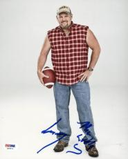 Larry The Cable Guy Signed 8X10 Photo Autographed PSA/DNA #X09071