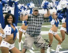 Larry the Cable Guy signed 8x10 photograph Daniel Whitney w/coa #LC2
