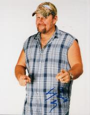 Larry the Cable Guy signed 8x10 photograph Daniel Whitney w/coa #LC3