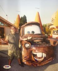 Larry The Cable Guy (Tow Mater) Signed 8x10 Photo Psa/Dna AA11122