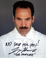 Larry Thomas autographed 8x10 Photo The Soup Nazi (Seinfeld)