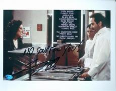 Larry Thomas autographed 8x10 Photo The Soup Nazi (Seinfeld) Elaine Benes ordering #2