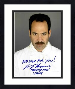 Larry Thomas Signed & Inscribed Soup Nazi Seinfeld 8x10 Photo #1