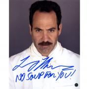 "Larry Thomas ""The Soup Nazi"" Signed 8x10 Photo w/ ""No Soup For You!"" Insc"