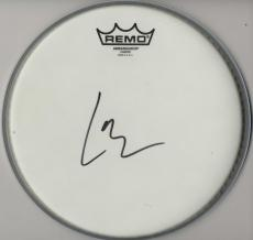 Lars Ulrich Autographed Signed Remo Drumhead AFTAL UACC RD COA