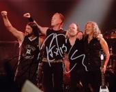 Lars Ulrich, Kirk Hammett, and Robert Trujillo Signed - Autographed METALLICA 8x10 inch Photo - Guaranteed to pass PSA or JSA