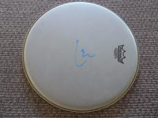 """Lars Ulrich Metallica  Autographed Signed 13"""" DRUMHEAD PSA Guaranteed"""