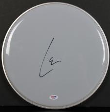 Lars Ulrich Metallica Signed 12 Inch Drum Head Autographed PSA/DNA