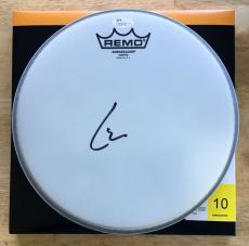Lars Ulrich *Metallica* Signed Drumhead #2 JSA COA