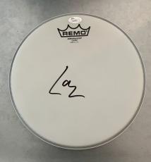 Lars Ulrich *Metallica* Signed Drumhead JSA COA