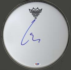 Lars Ulrich Metallica Signed Emperor Size 10 Drumhead UACC RD COA AFTAL PSA