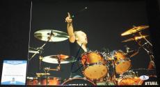 Lars Ulrich signed 11 x 14, Metallica, Ride the Lightning, Beckett BAS B05760