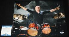 Lars Ulrich signed 11 x 14, Metallica, Ride the Lightning, Beckett BAS B05761