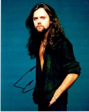 Lars Ulrich Signed - Autographed METALLICA Drummer 8x10 inch Photo - Guaranteed to pass PSA or JSA
