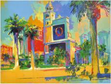 Las Vegas Bellagio Scene Original Artwork