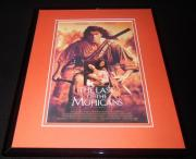 Last of the Mohicans Framed 11x14 Repro Poster Display Daniel Day Lewis