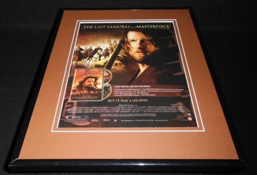 Last Samurai 2004 Framed 11x14 ORIGINAL Vintage Advertisement Tom Cruise