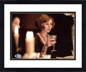 Laura Carmichael Downton Abbey Signed 8X10 Photo BAS #B51946