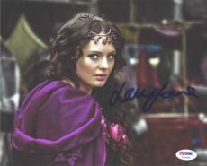Laura Haddock Sexy Da Vinci's Demons Autographed Signed 8x10 Photo PSA/DNA COA