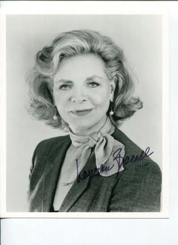 Lauren Bacall Key Largo Big Sleep Oscar Nominee Signed Autograph Photo