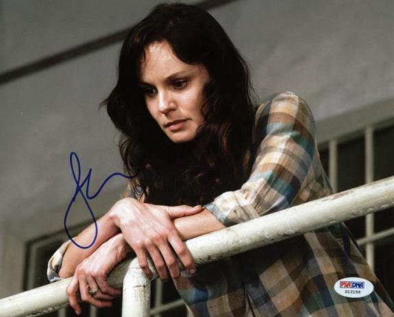 Sarah Wayne Callies The Walking Dead Signed 8X10 Photo PSA #X12156