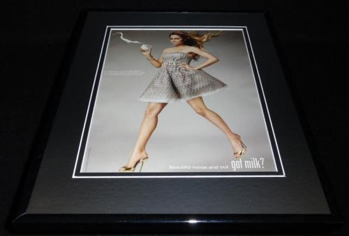 Lauren Conrad 2010 Got Milk Framed 11x14 ORIGINAL Vintage Advertisement