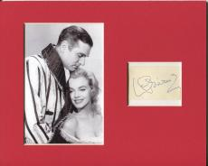 Laurence Olivier Rare Signed Autograph Photo Display W/ Marilyn Monroe