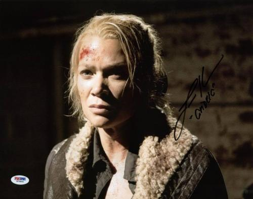 """Laurie Holden """"Andrea"""" Walking Dead Signed 11X14 Photo PSA/DNA #W79894"""