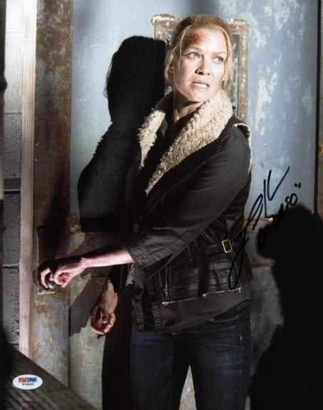 """Laurie Holden """"Andrea"""" Walking Dead Signed 11X14 Photo PSA/DNA #W79895"""