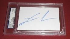 Laurie Holden Signed Auto'd Ic Index Card Psa/dna Slabbed The Walking Dead Twd
