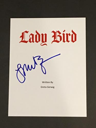 Laurie Metcalf Signed Lady Bird Full Movie Script Autographed Rare Jsa Coa