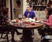Laurie Metcalf The Big Bang Theory Signed 8X10 Photo BAS #C54145