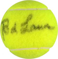 Rod Laver Autographed French Open Logo Tennis Ball