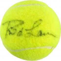 Rod Laver Autographed US Open Logo Tennis Ball