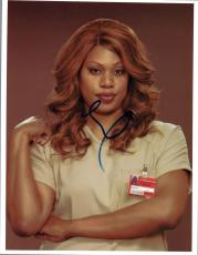 Laverne Cox Signed Autographed 8x10 Photo Orange is the New Black COA VD