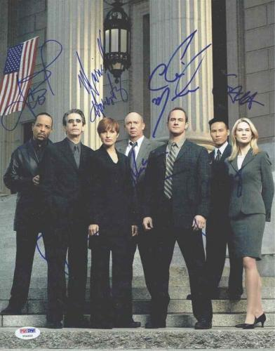 Law & Order SVU Cast Autographed Signed 11x14 Photo Certified Authentic PSA/DNA