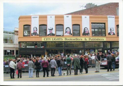 Lawrence Ferlinghetti Author Beat Poet City Lights Signed Autograph PC Photo