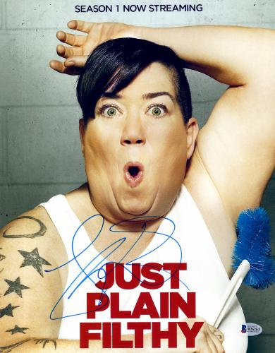 "Lea DeLaria Autographed 11"" x 14"" Orange Is The New Black - Just Plain Filthy Photograph - Beckett COA"