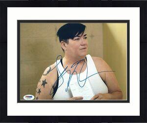 Lea DeLaria Signed 'Orange Is The New Black' 8x10 Photo *OITNB PSA AC27521