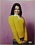 Lea Michele Autograph GLEE SCREAM QUEENS Signed 11x14 Photo PSA/DNA COA #5