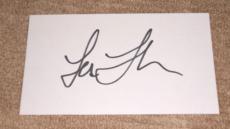 Lea Thompson Signed 3 X 5 Index Card *genuine* Autograph *in-person* Coa
