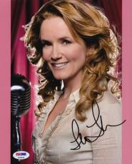 Lea Thompson SIGNED 8x10 Photo Back To The Future PSA/DNA AUTOGRAPHED