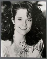 "Lea Thompson Signed 8x10 Photo ""take Care"" Back To The Future Actress"