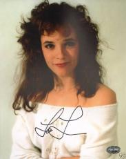 Lea Thompson Signed 8x10 Photo PSA/DNA COA Back to the Future Red Dawn Autograph