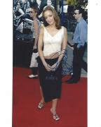 """LEAH REMINI - Best Known for Her Role as CARRIE HEFFERNAN in TV Series """"KING of QUEENS"""" Signed 8x10 Color Photo"""