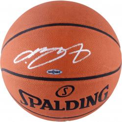 LeBron James Cleveland Cavaliers Autographed Official NBA Leather Game Basketball