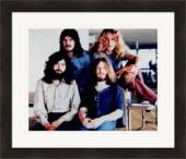 Led Zeppelin 8x10 photo (English Rock Band) Matted & Framed