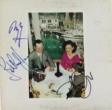 Led Zeppelin Group Signed Presence W/ Page, Plant & Jones Psa/dna Coa U04164