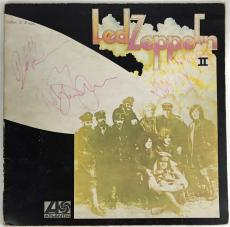 Led Zeppelin II Signed Autographed Album Bonham Page Plant Jones Beckett BAS
