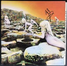 Led Zeppelin Jimmy Page Signed Autographed Houses Of The Holy Album JSA